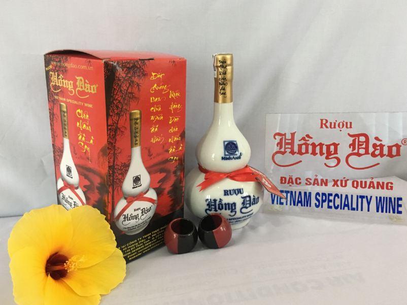 Rượu hồng đào. Đặc sản xứ Quảng