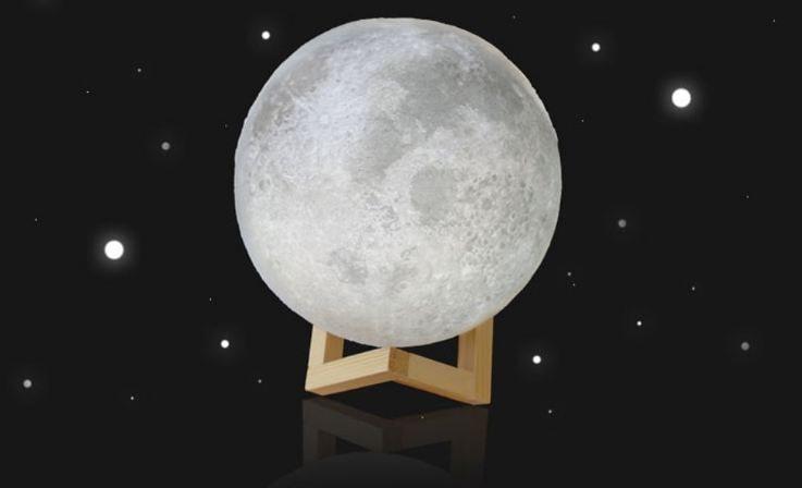 đèn led mặt trăng phong thủy