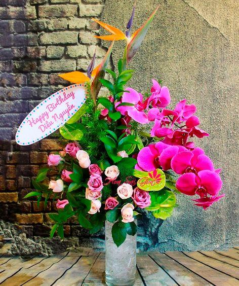 Mẹo tặng hoa sinh nhật cho sếp nữ tinh tế