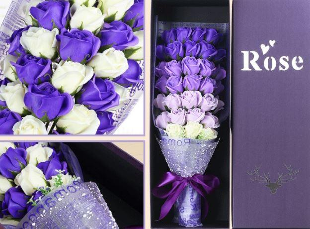 Hộp Hoa hồng sáp thơm