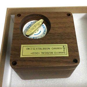 Hộp nhạc gỗ Sankyo mẫu Vuông (1)