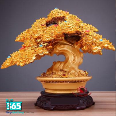 Quà tặng cây tài lộc vàng