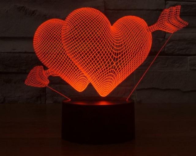 Đèn ngủ 3D là món quà đặc biệt bạn nên tặng
